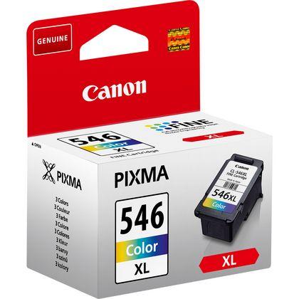 Cartucho de tinta de color Canon CL-546XL